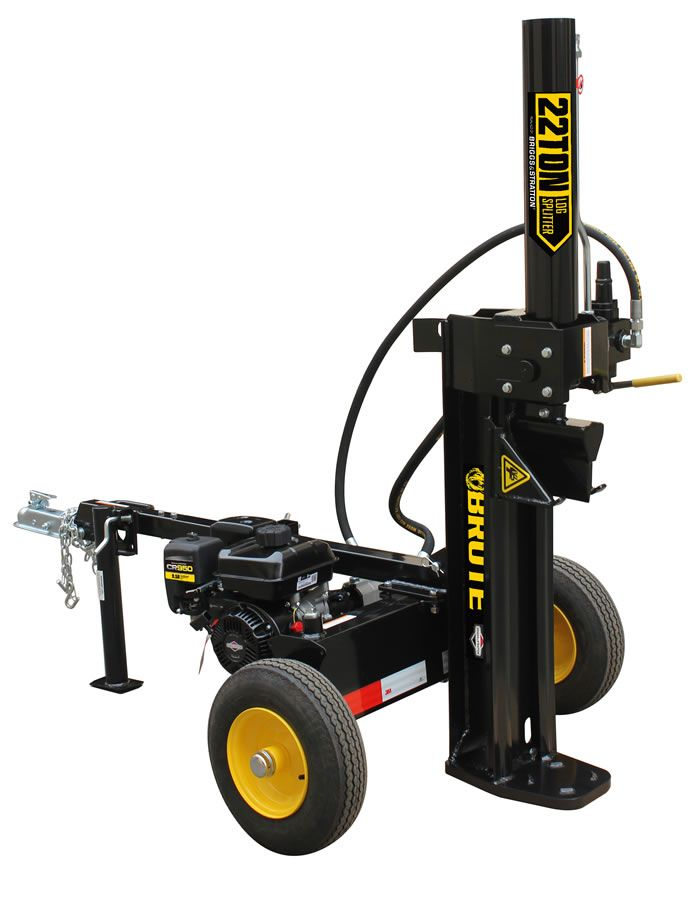 Briggs And Stratton Engine >> Brute 22T Log Splitter - YTL International